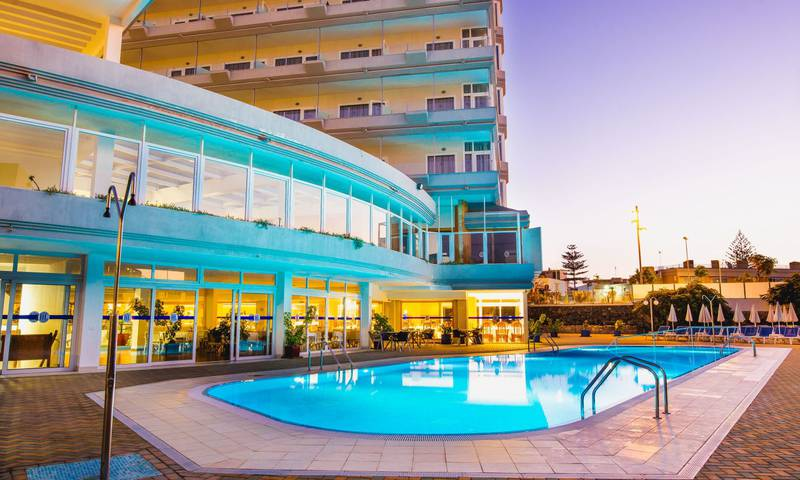 Schwimmbad HL Suitehotel Playa del Ingles**** Hotel in Gran Canaria